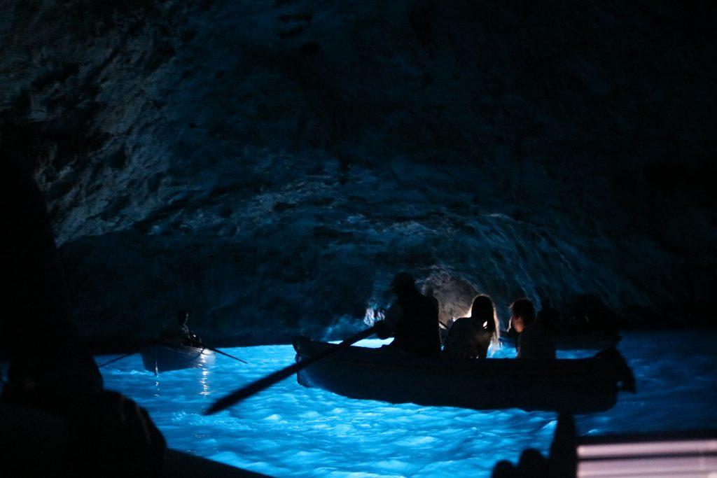 Blue Grotte, Capri