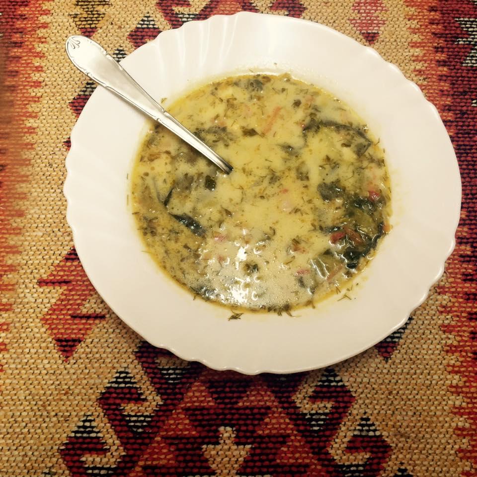Ciorbă de salată. Iunieta Sandu